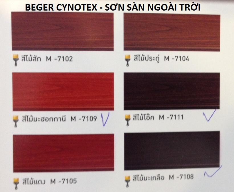 Beger Synotex - Sơn sàn ngoài trời