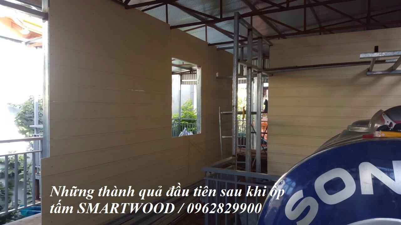 Ốp tường tấm Smartwood